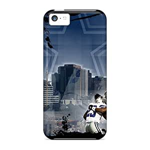 Iphone 5c Case Cover - Slim Fit Tpu Protector Shock Absorbent Case (dallas Cowboys) wangjiang maoyi
