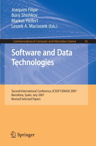 [PDF] Software and Data Technologies Free Download | Publisher : Springer | Category : Computers & Internet | ISBN 10 : 3540886540 | ISBN 13 : 9783540886549