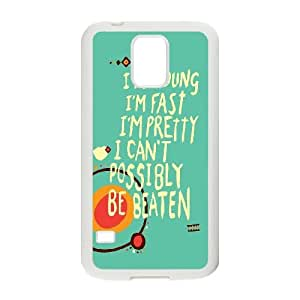 Samsung Galaxy S5 Cell Phone Case White Im Invincible LSO7739577