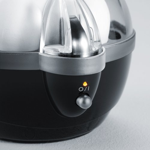 Severin EK 3056 - Cuece huevos, 400 W, color negro y transparente: Amazon.es: Hogar