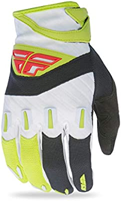 Fly Racing Unisex-Adult F-16 Gloves Black//Lime Size 6//Youth Large 370-91506