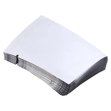 100pcs Aluminum Foil Mylar Bag Vacuum Sealer Food Storage Package Pouch