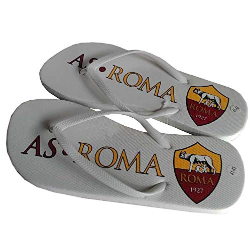 asroma AS Roma 1927 Accappatoio Uomo Microfibra con Sacca E Infradito Omaggio R1047D