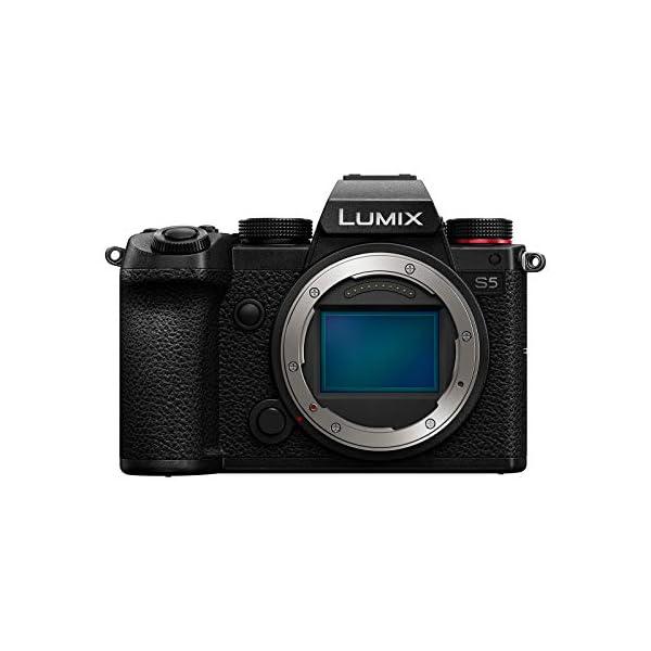 RetinaPix Panasonic Lumix S5 FullFrame Mirrorless Camera with Lumix S 20-60mm Lens, DC-S5K