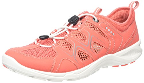 ECCO Women's Terracruise Low Rise Hiking Shoes Red (Spiced Coral/Spiced Coral) mcnTQ5ozff