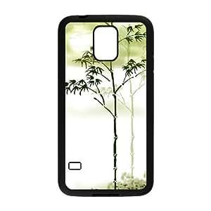 Bamboo Custom Cover Case for SamSung Galaxy S5 I9600,diy phone case ygtg-333805