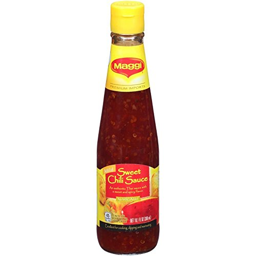 Amazon Com Maggi Sweet Chili Sauce 10 2 Oz Pack Of 3 Grocery Gourmet Food