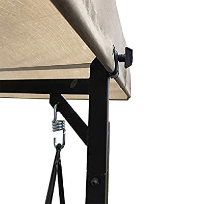 Garden Winds Replacement Canopy Top Cover for Forest Hills Swing: Garden & Outdoor