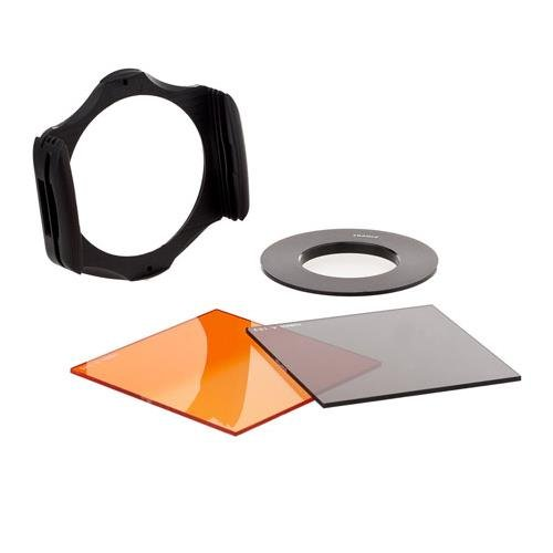 Cokin SNAP KIT 43mm for Compact System Cameras (CSC), with; Filter Holder A Series, 43mm Adapter Ring A Series, Filter Neutral Grey ND4, Filter Sunset 2