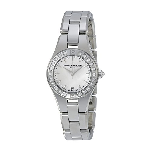 baume-et-mercier-linea-silver-dial-stainless-steel-ladies-watch-moa10078