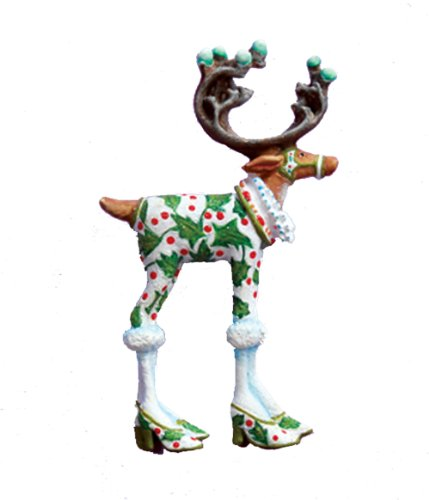 Patience Brewster Christmas Dash Away Reindeer Women Brouche Pin Assortment 08-30920S (Vixen)