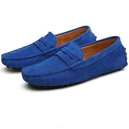 Tiefes Blau Mocassini Hishoes Mocassini Tiefes uomo Hishoes Hishoes uomo Blau ZRw8wn4q
