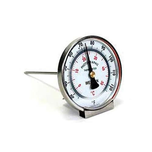 Weston Analog, Large Dial Faced Stem Thermometer by Weston
