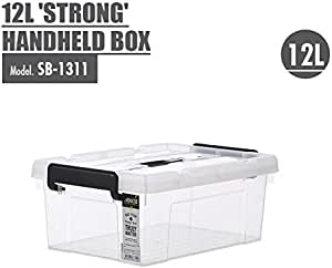 HOUZE Strong Handheld Box, 12 L, Clear