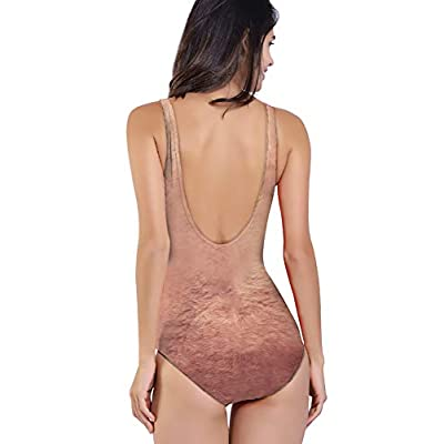 RAISEVERN Women's One Piece 3D Print Funny Swimsuits Bathing Suit Swimwear Beachwear at Women's Clothing store