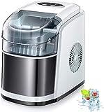 Kismile Countertop Ice Maker Machine,26Lbs/24H