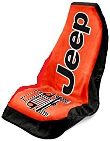 Seat Armour Universal Fit Jeep Towel-2-Go Seat Protector Red