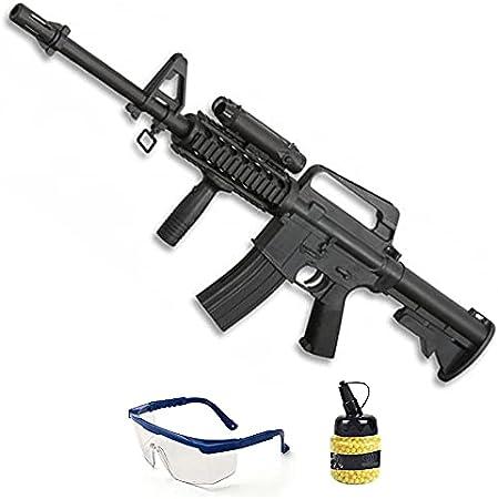 Fusil de Airsoft Assault | Rifle de Bolas de PVC (bolines de plástico) Calibre 6mm de Muelle. Arma de Airsoft Tipo M16