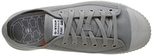 G Star Rovulc Canvas Low, Zapatillas para Hombre Gris (Gs Grey 1260)