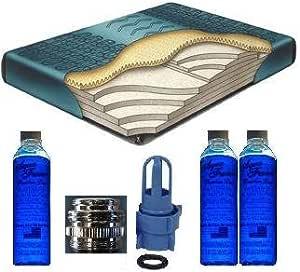 """QUEEN 60/"""" X 84/"""" Boyd Fiber 2500-70/% Waveless Tethered LUMBAR Waterbed Mattress"""