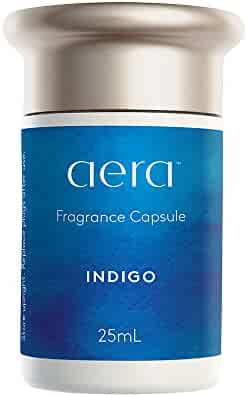 Indigo Scented Home Fragrance, Hypoallergenic Formula With Scents of Citrus, Cedarwood, Sandalwood, Amber - Schedule Using App With Aera Smart 2.0 Diffusers - State Of The Art Air Freshener Technology