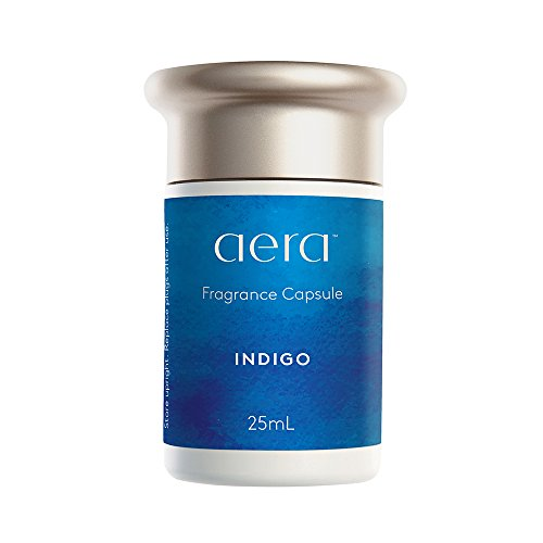 Indigo Fragrance Capsule REFILL: Notes of Citrus, Cedarwood and Sandalwood; Cool and Refined by AERA