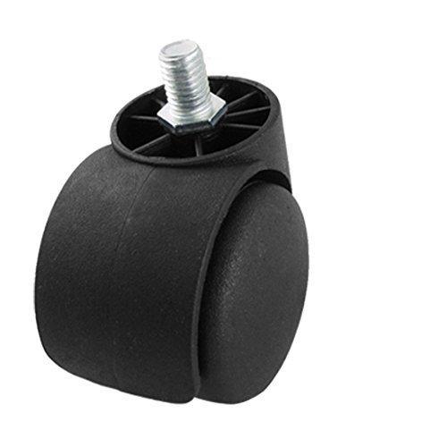 Ersatz 2 Twin Wheel drehen Caster Roller für Bürostuhl, Modell: a11102700ux0070, Tools & Baumarkt