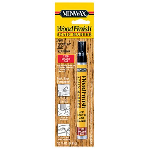 (Minwax 63481000 Wood Finish Stain Marker, Golden Oak)