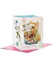 Hallmark Paper Wonder Displayable Pop Up Birthday Card for Women (Beautiful Day)
