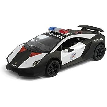 Amazoncom Lamborghini Sesto Elemento Police Car Toys Games - Police car