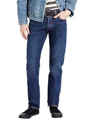 Levi's Mens 501 Regular Straight-Leg Denim Jeans Blue Size 36 Length 32 by Levi's