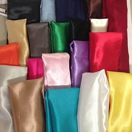 Cord Cover Satin Fabric Handmade Variety of Colors and Sizes Up to 15 Feet