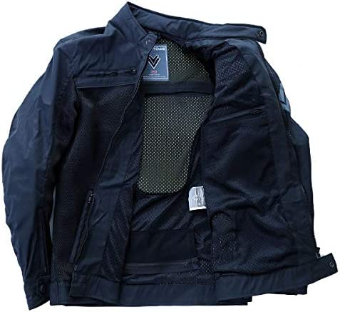 Frank Thomas Desert Mesh Mens Motorcycle Jacket Summer Black J/&S 4XL