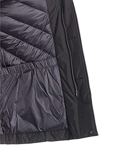 City Uomo Giubbotto Wocps2702 Black Blu Woolrich Coat wz45xCvq