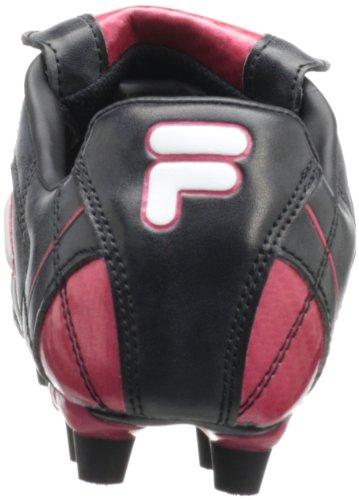 Fila Menns Forza Ii Fotballsko Svart / Hvit / Kinesisk Rød