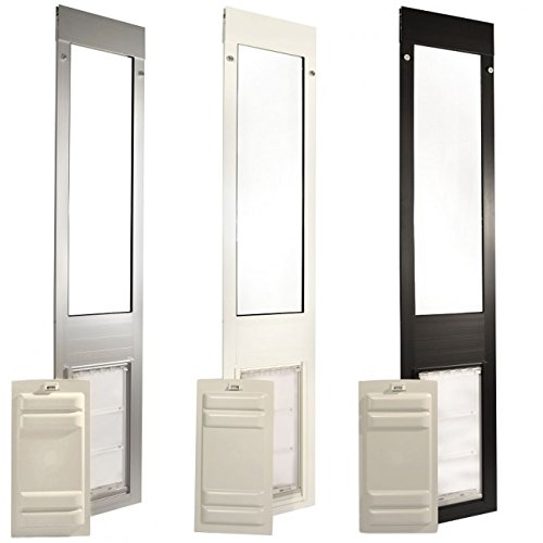 Endura Flap Patio Pacific Thermo Panel IIIe Large Flap 74.75-77.75, White Frame