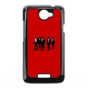 HTC One X Cell Phone Case Black Reservoir Dogs Vector Lqlif