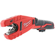 """Milwaukee 2471-20 M12 Cordless Lithium Ion 500 RPM Copper Pipe and Tubing Cutter Adjustable from 3/8"""" to 1"""" Diameters (Battery Not Included, Power Tool Only)"""