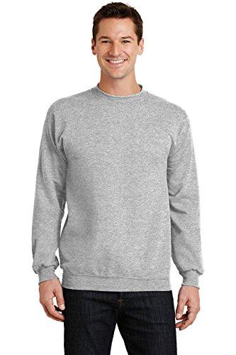 Port & Company Men's Classic Crewneck Sweatshirt XXL Ash