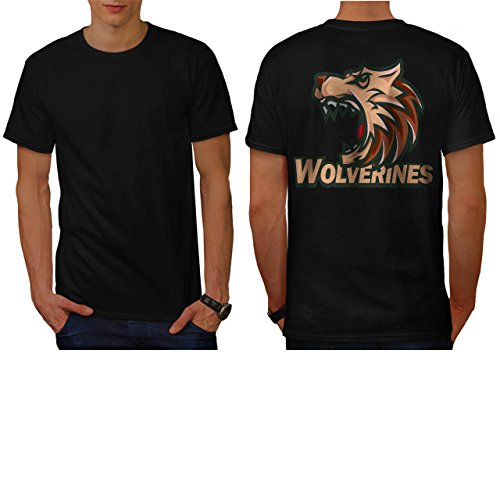 [Wolverine Sport Team Basketball Men NEW L T-shirt Back | Wellcoda] (Out Of Your League Costumes)