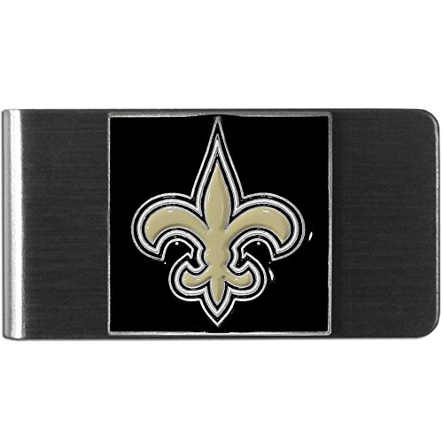 - NFL Sculpted & Enameled Pewter Moneyclip - New Orleans Saints