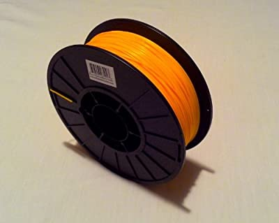 Filament Outlet Yellow ABS 1.75mm 3D Printer Filament 1kg (2.2lbs) spool USA