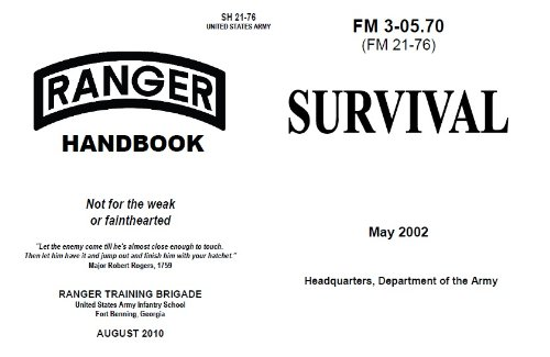 amazon com survival manual us army 2002 and u s army ranger rh amazon com