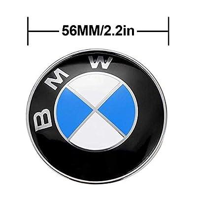 4 x 56.5mm Car Lettering BBS Wheel Center Cap Sticker Wheel Emblem Badge Logo Stickers (fit BMW): Automotive
