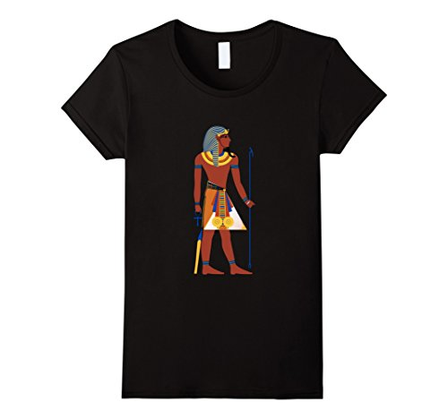 Womens King Pharaoh T-Shirt Egypt Tutankhamun Tut Cool Eg...