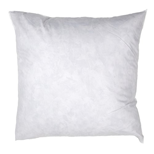 Famous Maker x 24in Feather/Down Pillow Form White