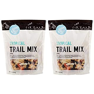 Amazon Brand - Happy Belly Tropical Trail Mix, 16 oz (Pack of 2)