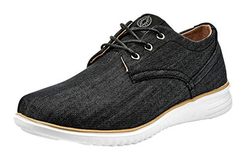 (Akademiks Men's Chambray Oxford Lightweight Fashion Shoes)