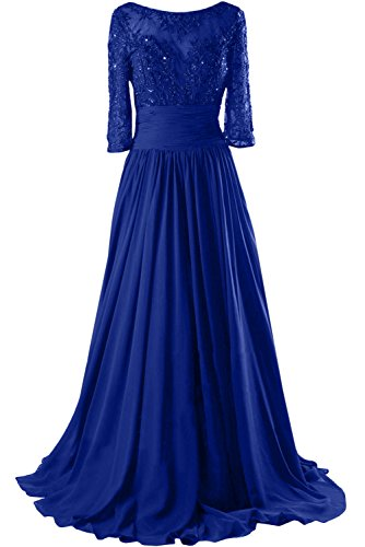 azul real trapecio 44 mujer Topkleider para Vestido xUpwI6BF