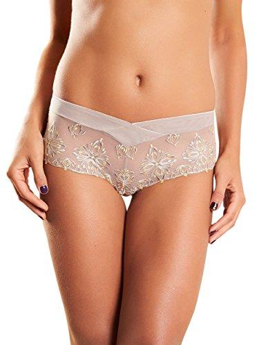 Chantelle - Shorts - para mujer Gris (Mineral Jaune Ft)